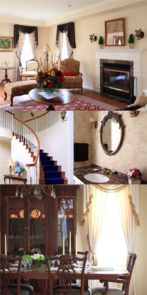 英国スタイル ジョージアン様式の家イメージ