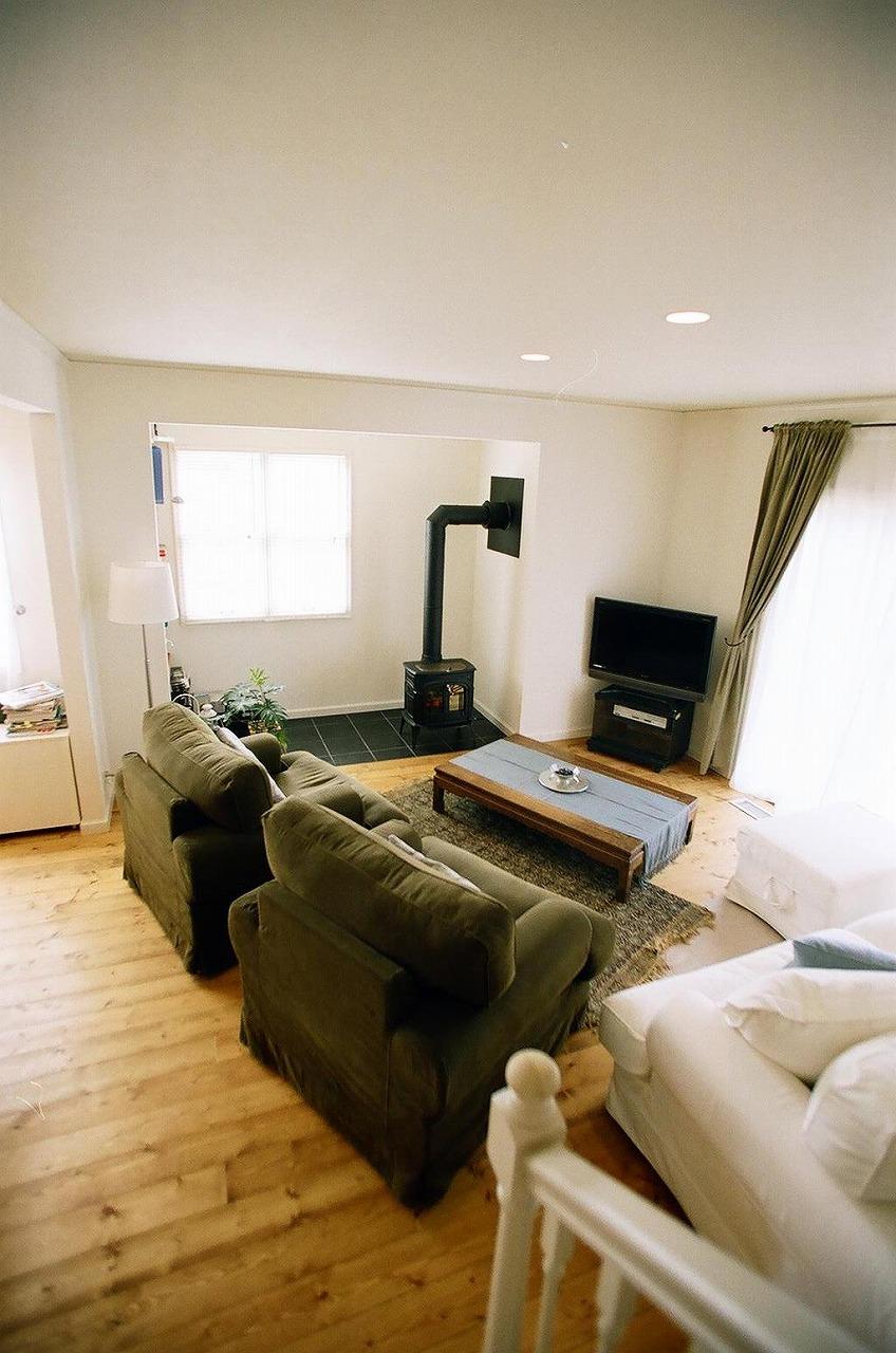 大きめ家具が映える、リビングルーム