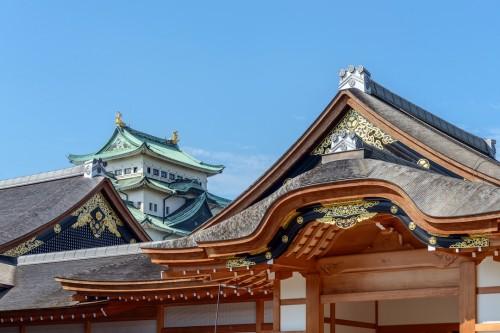 名古屋城 本丸御殿と大天守