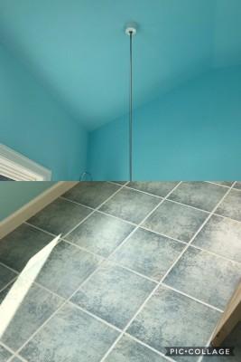 施工例②モデルハウス浴室タイル