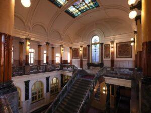 市政資料館内部