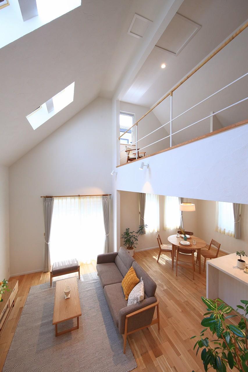白レンガの家