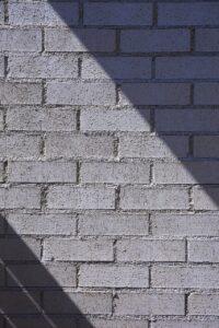 レンガ積みの壁