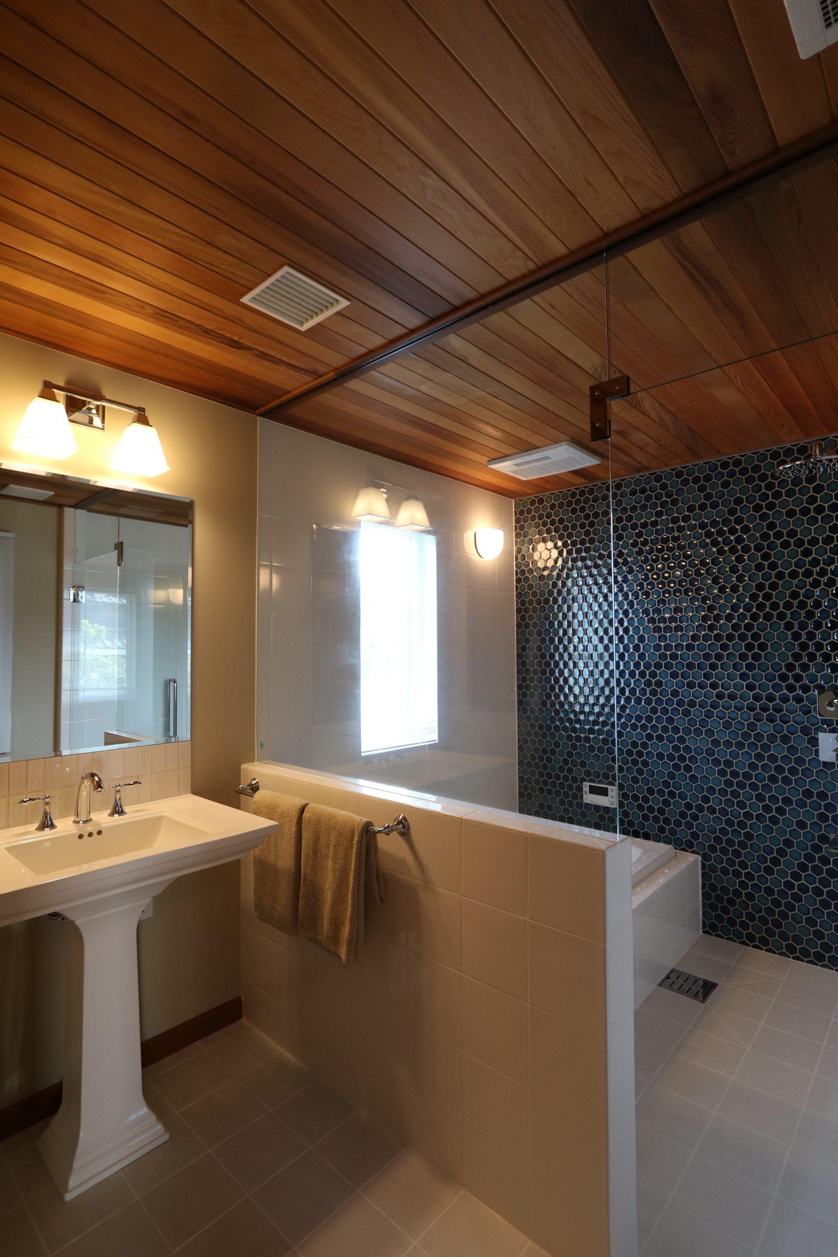 タイル大好きなお施主様が追求した、こだわりのホテルライクなバスルーム。